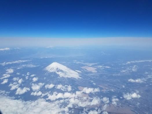 富士山(空撮)2017.1.18