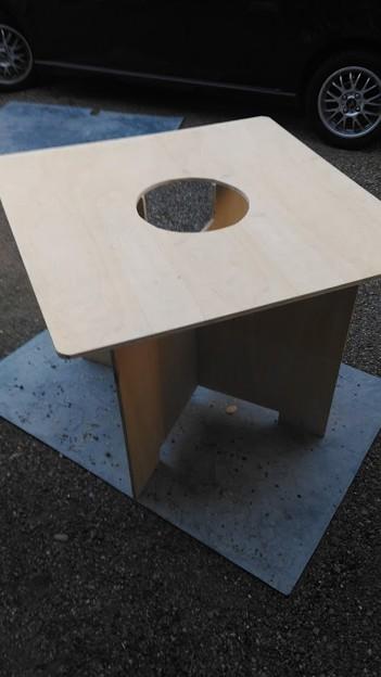 合板テーブル
