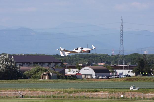 丘珠2014 DA42 JA666C Take off