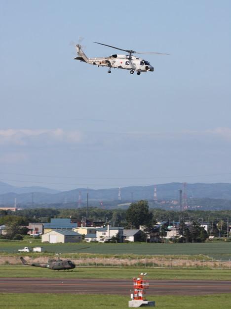 丘珠2014 SH-60J 8291 第25航空隊