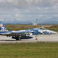 Photos: F-15 305sqの空自60th記念機をCTSで