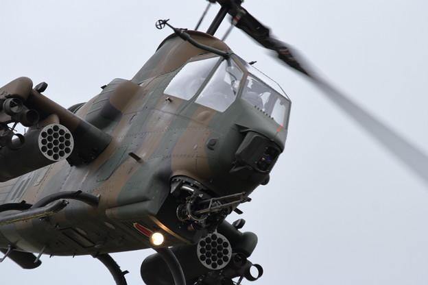 静内対空射撃場おまけのAH-1S コブラ