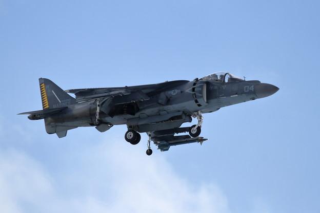 AV-8B WH-04 approach