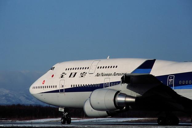 Photos: B747-481 JA8097 全日空 CTS 1991.12