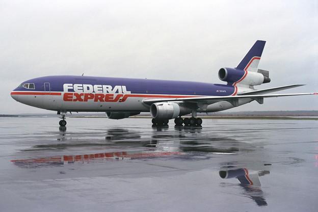DC10-30CF N304FE Fedx CTS 1989秋