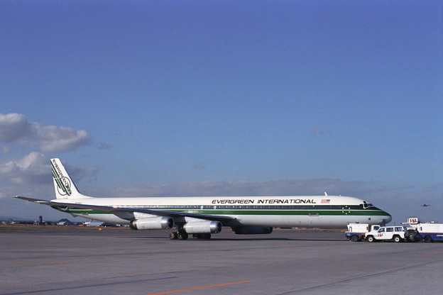 DC-8-63F N819EV EIA CTS 1989秋