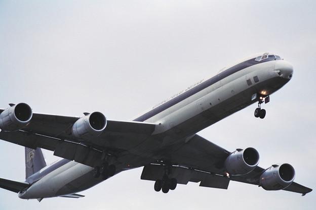 DC-8-73CF N809UP UPS CTS 1989秋