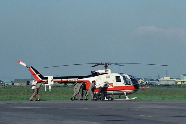 BO.105C JA9604 YOMIURI-129 OKD 1988.9