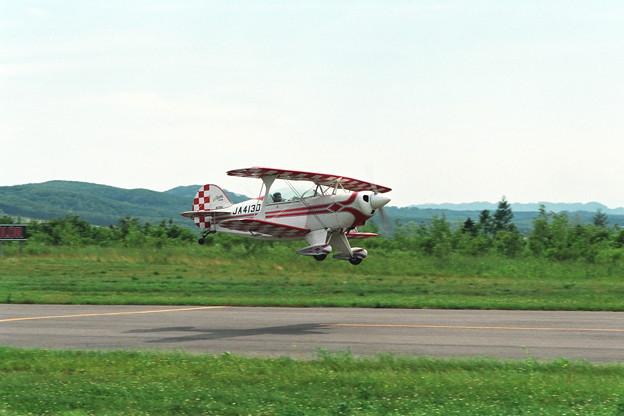 PittsS-2A JA4130(N70AE) 豊頃1995.7.23(1)