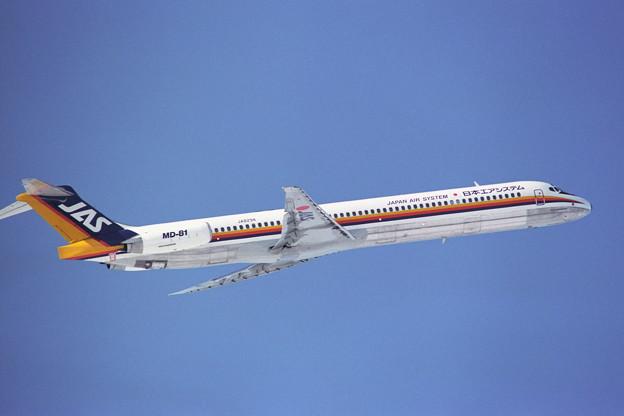 MD-81 JA8294 JAS 1990冬