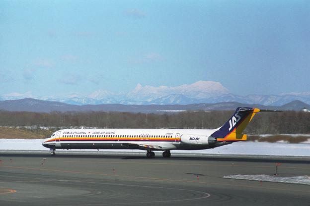 MD-81 JA8554 JAS CTS 1995