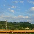 Photos: 秋空と近鉄特急