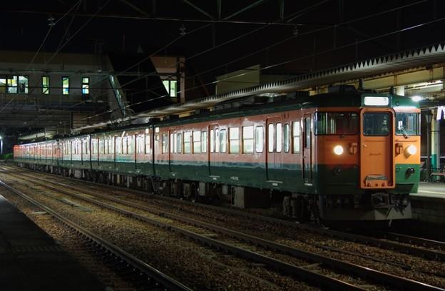 115系新潟車N23編成+N40編成(湘南色)