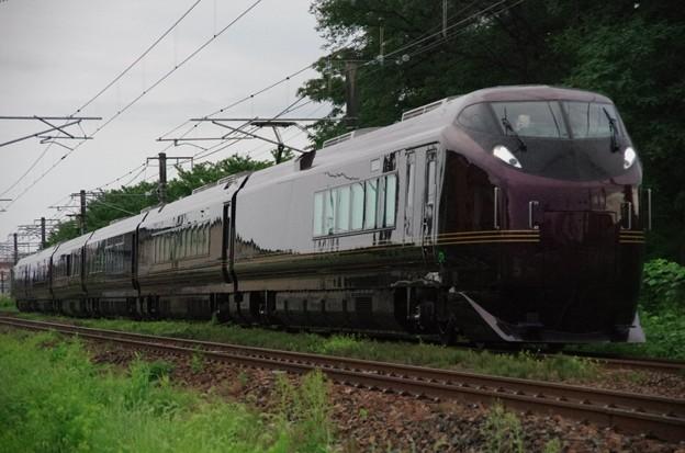 """E655系""""和(なごみ)"""" ※TR車(E655-1)込み お召し列車運用送り込み回送"""