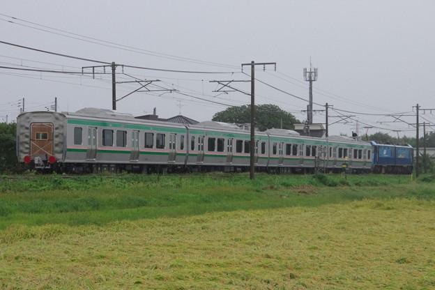 EH200 5牽引 E721系1000番台中間車4B 甲種輸送(後追い)