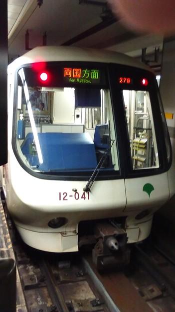 大江戸線12系初期車正面
