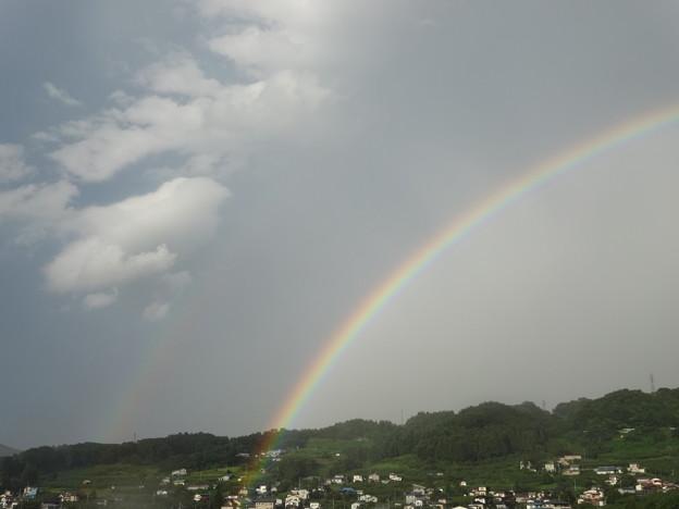 虹の中と外