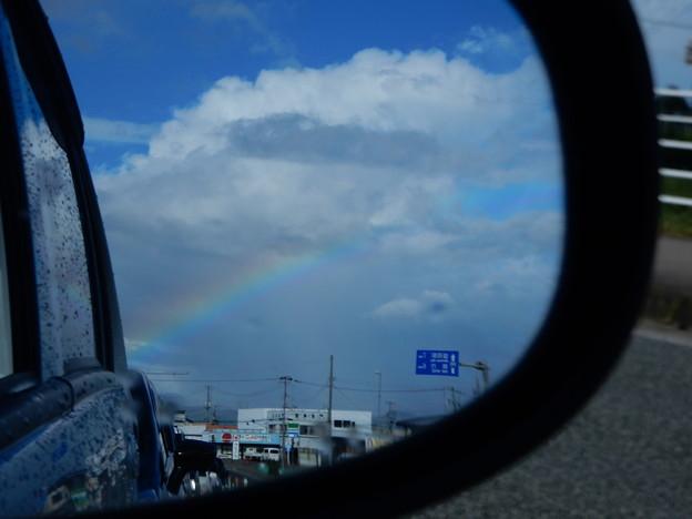 20160830朝の虹
