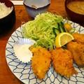 Photos: 1202牡蠣フライ定食@三善