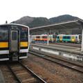 Photos: Kiha E130 series @ Hitachi-daigo, Suigun Line business office