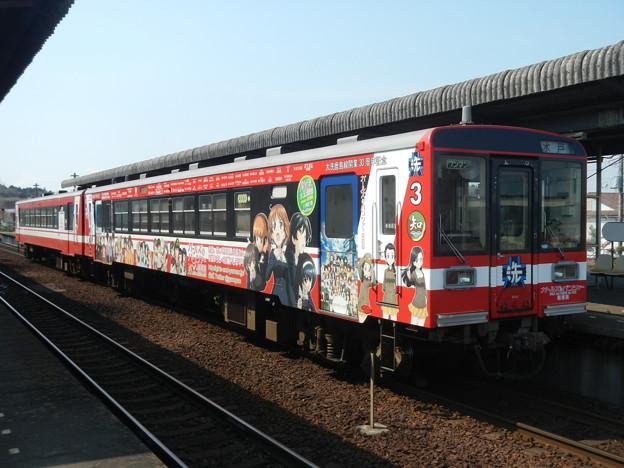 ガルパン・ラッピング列車