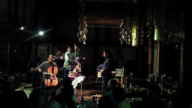 「秋のお寺の音楽会」の出演はmmm、ケバブジョンソン弦楽五重奏、たよ...