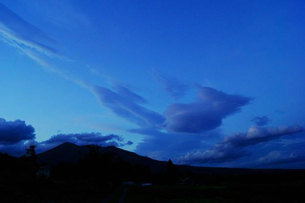 刹那の雲と