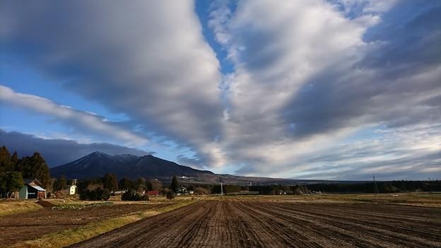 写真: 一期一会の雲と~