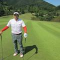 Photos: 足利城ゴルフ倶楽部5番ミドルホール鉄人2014.9.23