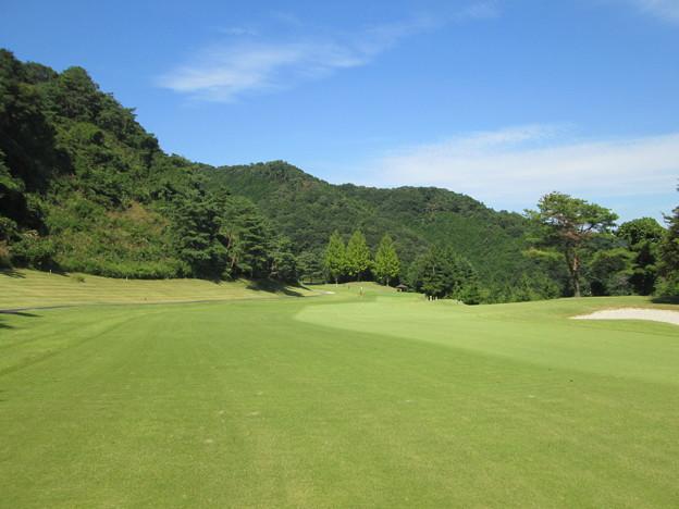 足利城ゴルフ倶楽部7番ミドルホール2014.9.23