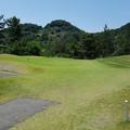 写真: 足利城ゴルフ倶楽部アプローチ練習場2016.6.18