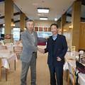 Photos: 足利カントリークラブ朝日手塚杯競技優勝の茂ちゃんと握手!!