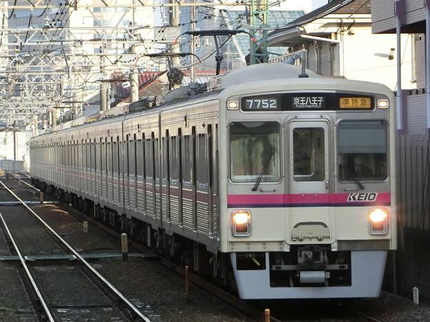 京王7000系(7702F+7807F) 準特急京王八王子行き