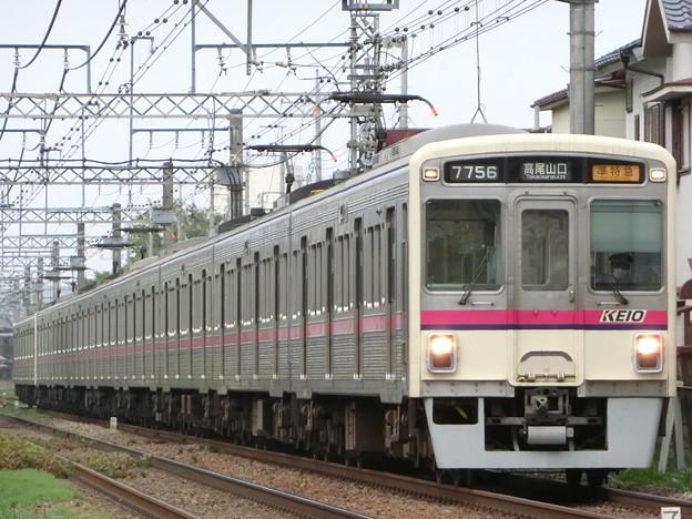 京王7000系(7706F+7423F) 準特急高尾山口行き