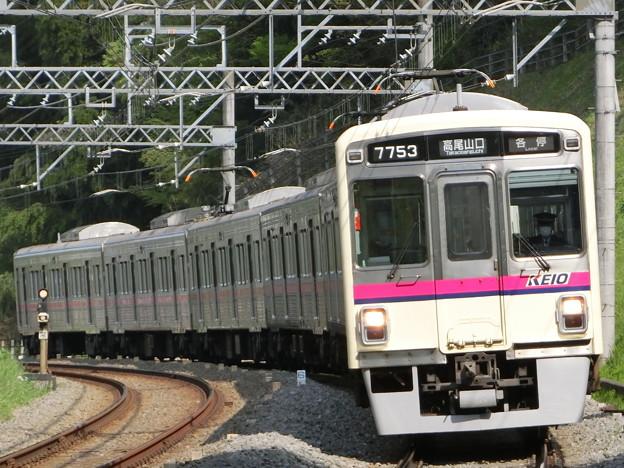 京王7000系(7703F) 各駅停車高尾山口行き