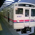京王6000系(6717F) 各駅停車高尾山口行き