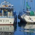 海鷲6号とヨット