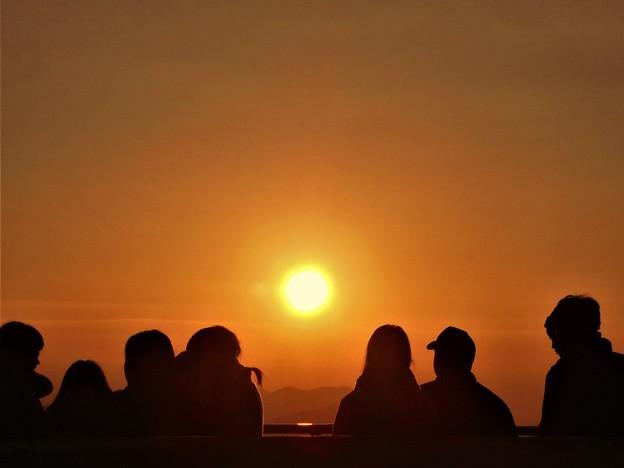 陽はまた昇る 若者たちの 初日の出2017.1.1