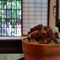 日本のなつの氷菓子