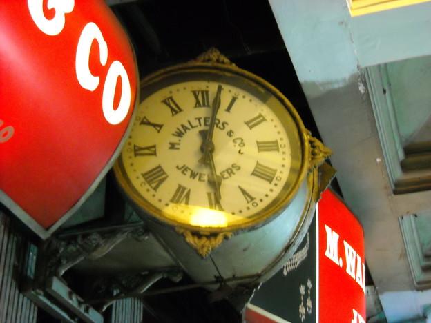 なんだか心惹かれた時計