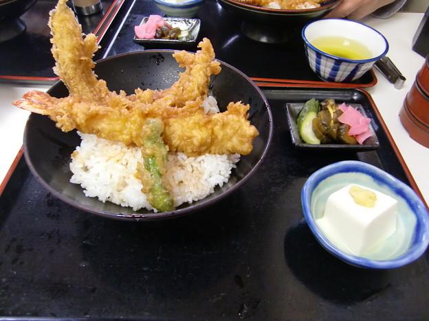 穴子&海老天丼