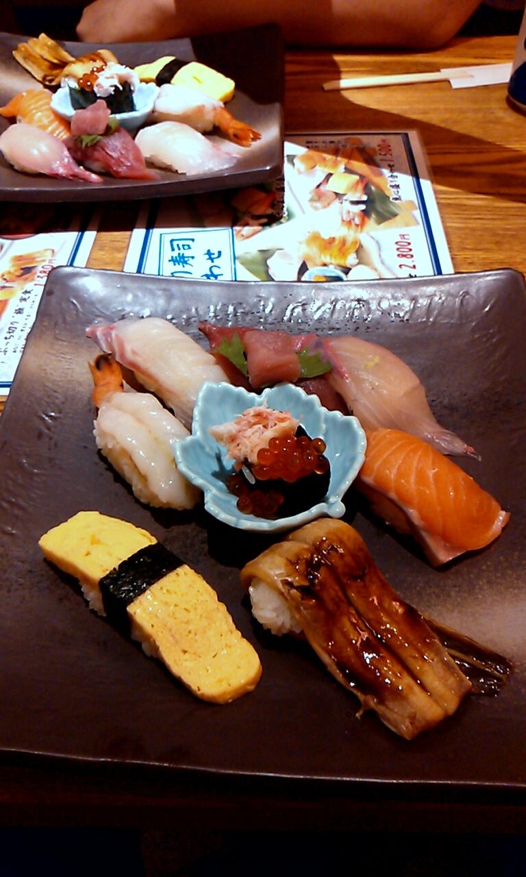元祖ぶっちぎり寿司 魚心