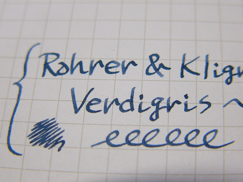 Verdigris handwriting 2