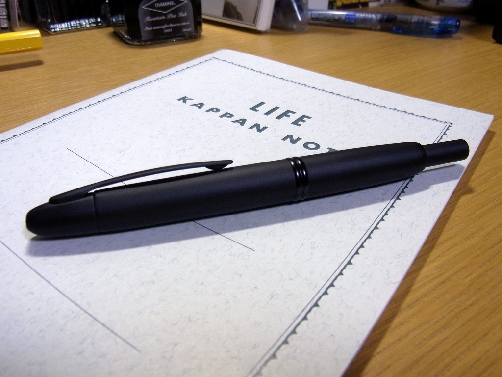 Pilot Capless FP (Rhodium Trim) Matt Black