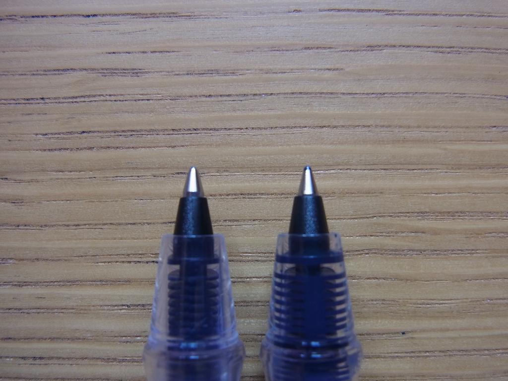 カキモリ ローラーボール 0.5mmと0.7mm (ペン先)