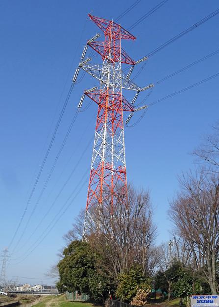 東京中線2096号鉄塔