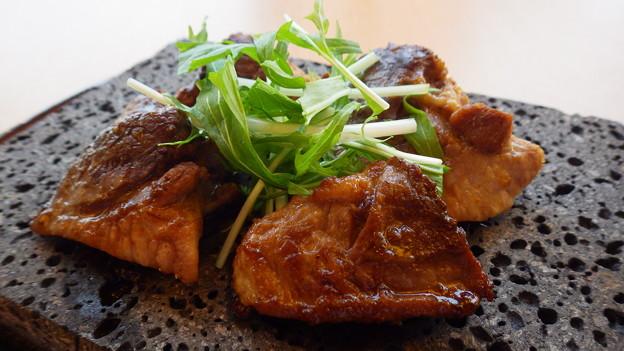 マグロのほほ肉ステーキ