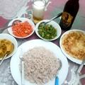 Photos: Rice & Curryです、数種類のカレーがつきます