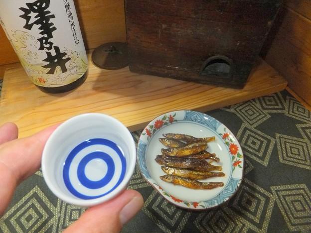 酒は澤乃井・湧水仕込み