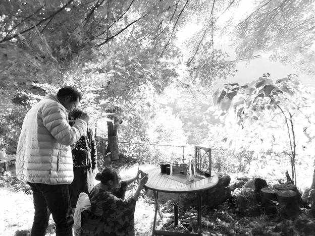 燗銅壺の撮影中